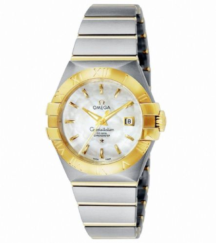 OMEGA Constellation Gold Automatic Ladies Watch 123.20.31.20.05.002